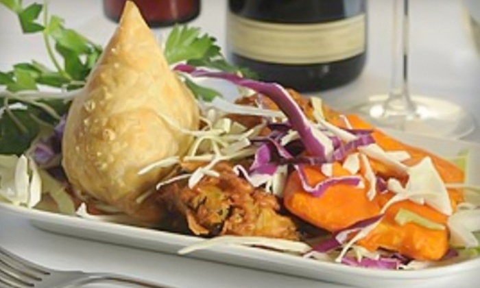 Earth Indian Restaurant & Wine Bar - Willowdale: $11 for $25 Worth of Indian Fare and Drinks at Earth Indian Restaurant & Wine Bar