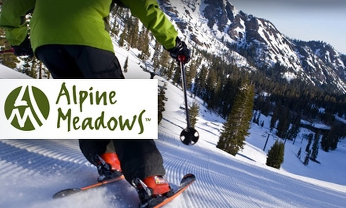Alpine Meadows - Colfax-Summit: $35 Lift Ticket to Alpine Meadows ($69 Value)