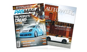 2-year, 20-issue Subscription To Pasmag Or 1-year, 24-issue Subscription To Autoweek