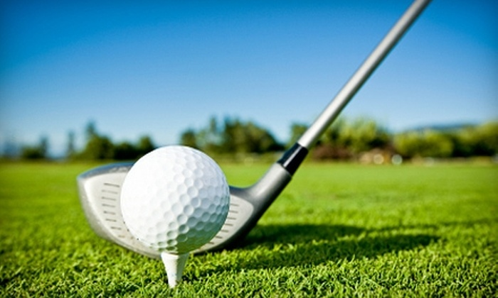 Emerald Hills Golf Course - Farm Hill: $25 for a Nine-Hole Round of Golf for Two, Cart Rental, and a Large Bucket of Range Balls at Emerald Hills Golf Course in Redwood City (Up to $50 Value)