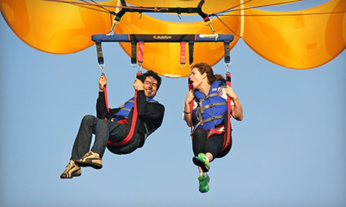Marina Del Rey Parasailing - Marina Del Rey: Weekday or Weekend Parasailing for Two or Three at Marina Del Rey Parasailing (Up to 56% Off)