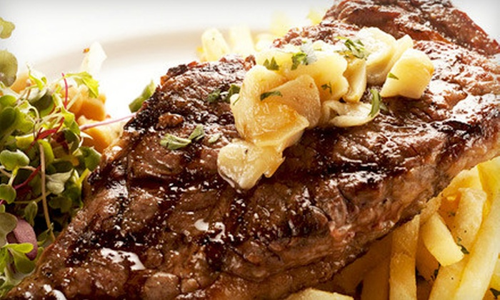 Brazil Brazil Restaurant - Midtown: $35 for Brazilian Steakhouse Dinner for Two including Appetizers, Entrees and Wine (Up to $94 Value)