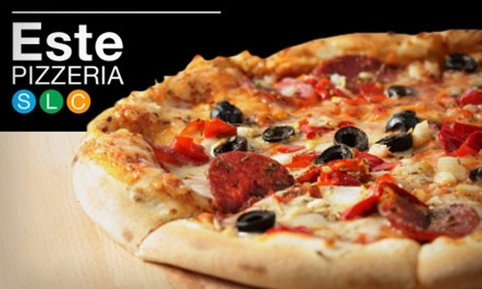 Este Pizzeria - Multiple Locations: $10 for $20 Worth of Pizza and More at Este Pizzeria