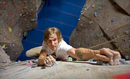 Climbing 101 Class, One Month of Unlimited Climbing, and Rental Gear for One Person (a $233 value) - The Cliffs at Valhalla in Valhalla