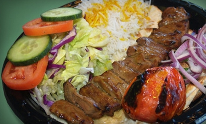 Zaytoon Kabob Bistro - Multiple Locations: $10 for $20 Worth of Mediterranean and Persian Fare at Zaytoon Kabob Bistro