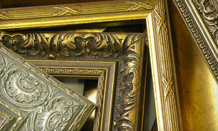 Wake Forest Art & Frame Shop - Wake Forest: $20 for $75 Worth of Custom Framing at Wake Forest Art & Frame Shop in Wake Forest