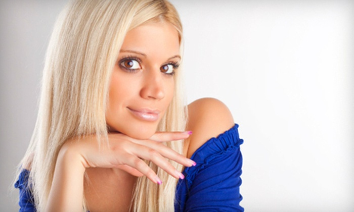 House of Heavilin Beauty College - Multiple Locations: $20 for Choice of Two Salon or Spa Services at House of Heavilin Beauty College in Blue Springs or Raymore (Up to $50 Value)