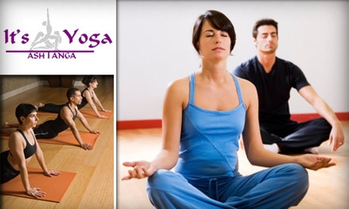 It's Yoga - Central Business District: $25 for Five Yoga Classes of Your Choice at It's Yoga ($55 Value)