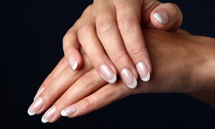 A+ Nails - Jasmine Heights: One or Two Express Mani-Pedis at A+ Nails in New Port Richey (Up to 56% Off)