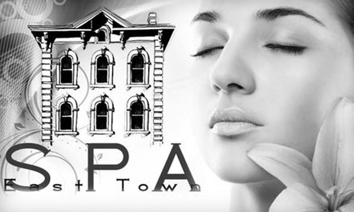 East Town Spa - Juneau Town: $50 for Spa Package Including Swedish Massage, Pure Focus Facial, and Paraffin Mask at East Town Spa ($105 Value)