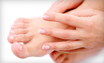 1 Mani-Pedi with a Choice of Hand or Foot Mask  - Halsted Tan and Spa in Chicago