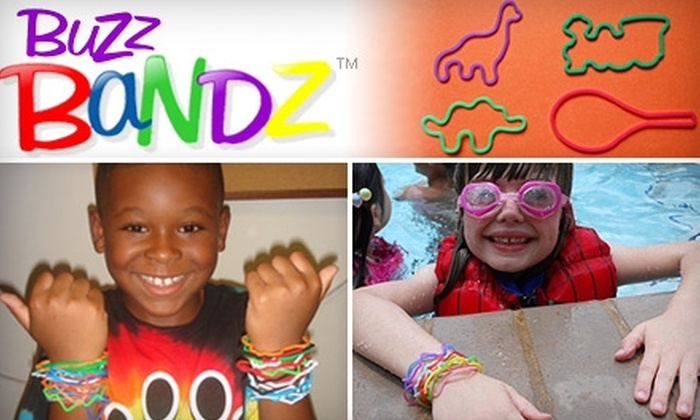 BuzzBandz: $5 for $10 Worth of Colorful, Shaped Silicone Wristbands from BuzzBandz