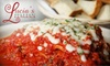 Lucia's Italian  - Alabaster-Helena: $9 for $20 Worth of Italian Cuisine at Lucia's Italian in Helena