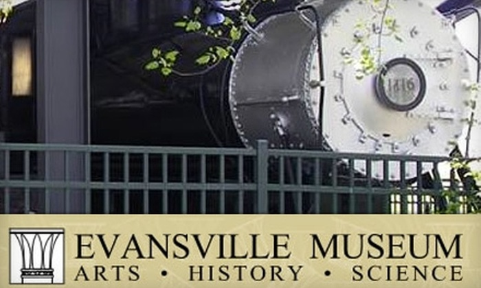 Evansville Museum of Arts, History, and Science - Evansville: $17 for a Basic Membership to the Evansville Museum of Arts, History, and Science ($35 Value)