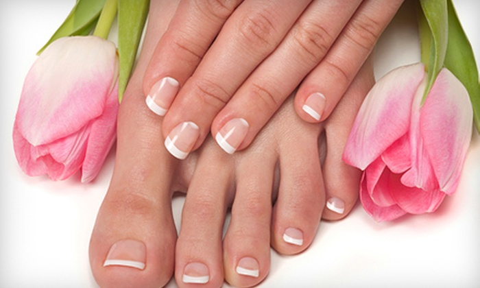 Miss Saigon Nail Bar - Tukwila Urban Center: $20 for Spa Manicure with Paraffin Dip and Pedicure at Miss Saigon Nail Bar in Tukwila ($40 Value)