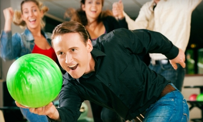 Oasis Bowling Center - Multiple Locations: $29 for Two Hours of Bowling, Shoe Rental, and Popcorn for Up to Six People at Oasis Bowling Center (Up to $59 Value)