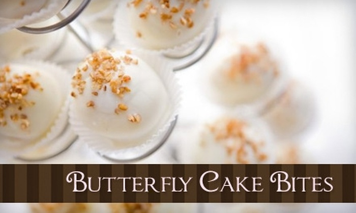 Butterfly Cake Bites - Far West Side: $9 for a Dozen Cake Bites at Butterfly Cake Bites ($18 Value)