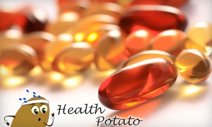 HealthPotato.com: $10 for $20 Worth of Vitamins, Supplements, and More from HealthPotato.com
