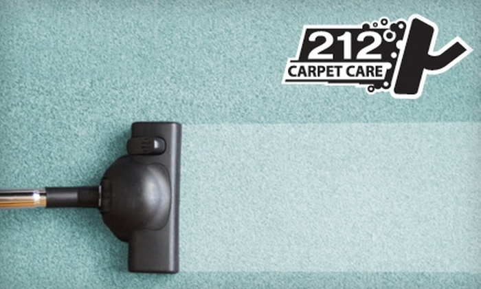 212 Carpet Care - San Antonio: $60 for $120 Worth of Cleaning Services from 212 Carpet Care