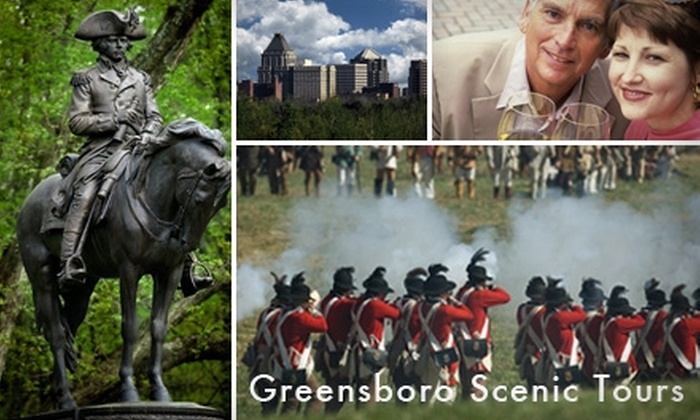 Greensboro Scenic Tours - Downtown: $55 for Any 2.5-Hour Customized or Classic Tour from Greensboro Scenic Tours