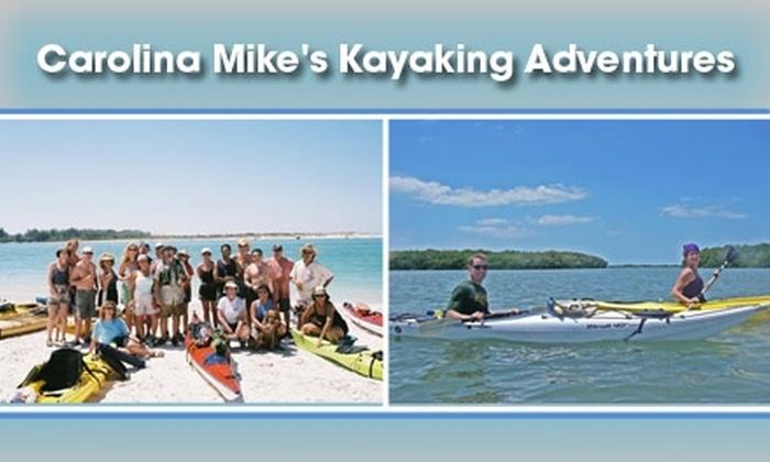 Carolina Mike's Kayaking Adventures - Tampa Bay Area: $15 for Kayaking Fitness Class at Carolina Mike's Kayaking Adventures ($30 Value)