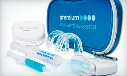 image for $23 for Premium Home <strong>Teeth-Whitening</strong> Kit from White Smile Central ($116.95 Value)