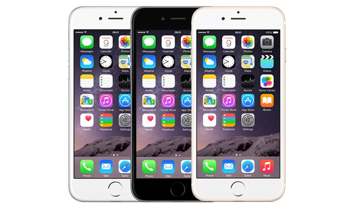 64GB iPhone 6, Contract (£39.5pm)