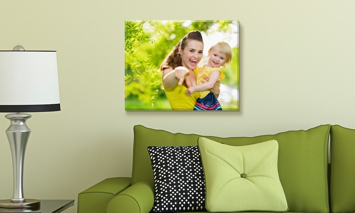 """Custom 16""""x20"""" Canvases from Fabness (Up to 85% Off). 1-, 2-, 3-, 4-, or 5-Pack."""