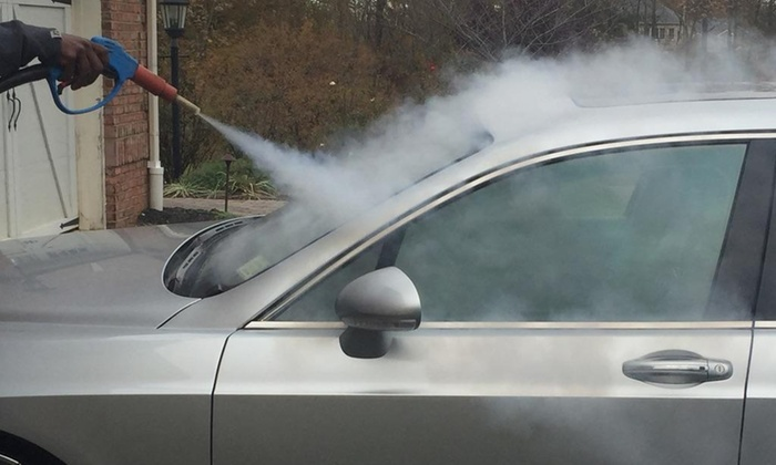 Sparkly vapor steamers - Baltimore: Up to 55% Off Auto Steam Clean Detail at Sparkly vapor steamers