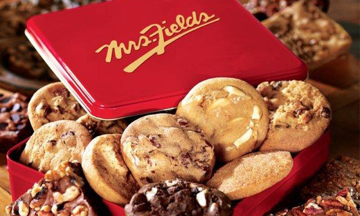 Mrs. Fields Cookies - Ashwaubenon: $12 for Four Groupons, Each Good for $5 Worth of Cookies at Mrs. Fields Cookies ($20 Value)