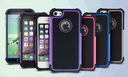 Aduro Impact Shield Case for Apple iPhone 5/5s, 6, 6 Plus, or Samsung Galaxy S6 from $6.99–$9.99