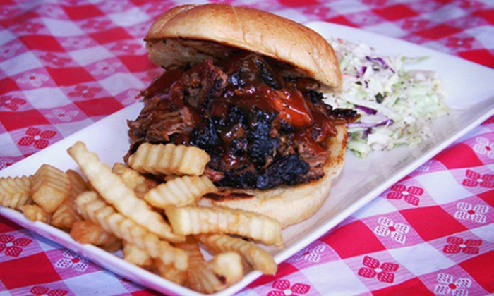 Super Dave's Diner - Boca Raton: Barbecue and Soul Food at Super Dave's Diner (Half Off). Two Options Available.