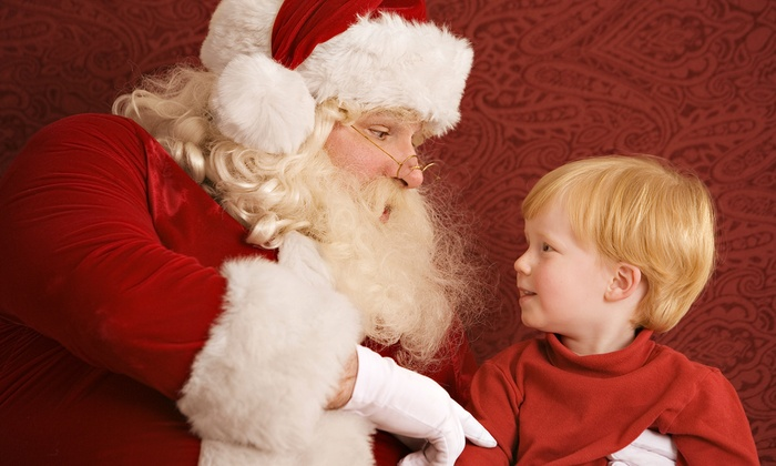Santa Photos at Celebration Town Center - Celebration: $59for Skip-the-Line Santa Photo Package from Santa Photos at Celebration Town Center ($99.99 Value)