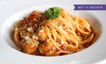 Italian Dinner for 2 or 4 with Appetizer, Entrees, & Dessert or Catered Lunch at Osteria de Medici (51% Off)