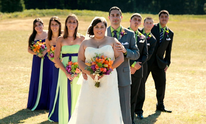 Pinao Images - North Plains: 6 , 8, or 12 Hours of Wedding Photography with Images from Pinao Images (50% Off)