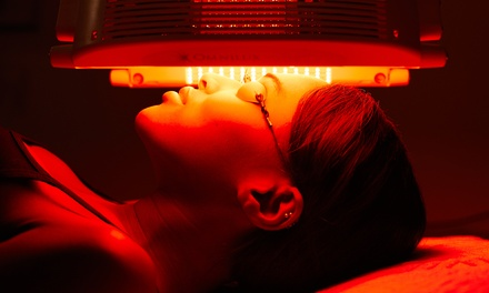 $18 for One Month of Red Light Therapy at STLsunTAN and Spa ($69.95 Value)