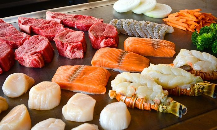 Sumo Japanese Sushi and Hibachi - Lake Point Centre: Japanese Hibachi Dinner for Two or Four or More at Sumo Japanese Sushi and Hibachi (40% Off)