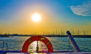 Mundo Marino: Paseo a vela o excursión con puesta de sol en alta mar para 2, 4 u 8 personas desde 14,90 € en Mundo Marino