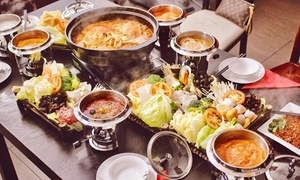 Beijing Hot Pot: Chinese Lunch with Drink Each for One ($10), Two ($19) or Four People ($35) at Beijing Hot Pot (Up to $63.60 Value)