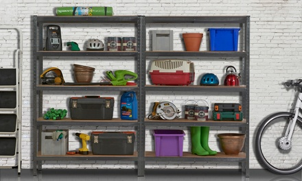 1.8M Heavy Duty Garage Shelving from £28.99 With Free Delivery