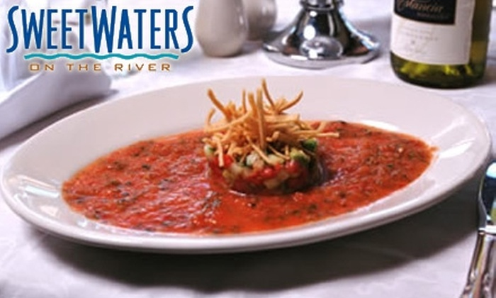 SweetWaters on the River - Autzen: $25 for $50 Worth of Pan-Pacific Northwest Eats and Drinks at SweetWaters on the River