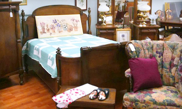 All Around The House - Multiple Locations: Fine Consignment Furniture, Home Accessories, and Antiques at All Around The House (Half Off). Two Options Available.