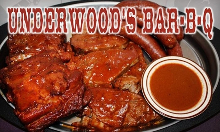 Underwood's Cafeteria - Brownwood: $7 for $15 Worth of Barbecue at Underwood's Cafeteria in Brownwood