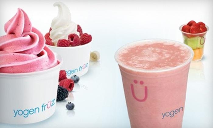 Yogen Früz - Baton Rouge: $5 for $10 Worth of Yogurt, Smoothies, and Sweets at Yogen Früz