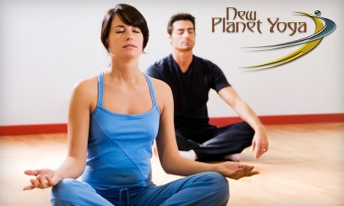 New Planet Yoga - Westend: $39 for a Six-Class Card Toward any Yoga Classes at New Planet Yoga in Winston-Salem ($84 Value)