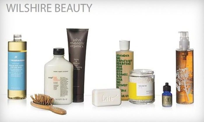 Wilshire Beauty - Multiple Locations: $20 for $40 Worth of Beauty Products at Wilshire Beauty