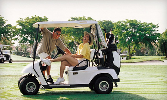 The Ponds Golf Course and Restaurant - St. Francis: $46 for a Golf Outing for Two at The Ponds Golf Course and Restaurant in St. Francis (Up to $92 Value)