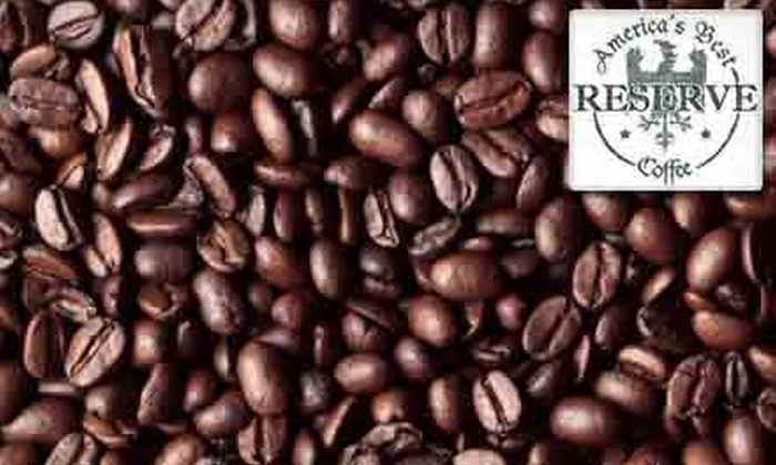 America's Best Coffee Reserve: $15 for $35 Worth of Gourmet Coffees and Teas from America's Best Coffee Reserve
