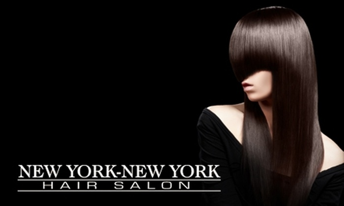 New York New York Hair Salon - Hunt Club Woods - Quintarra - Revelstoke - Riverside South P: Hair and Grooming Services at New York New York Hair Salon. Choose Between Two Options.