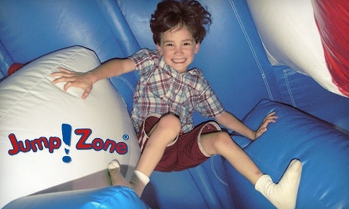 Jump!Zone - Commerce Business Park: $18 for a Six-Visit Pass to the Inflatable Indoor Arena at Jump!Zone ($40 Value)